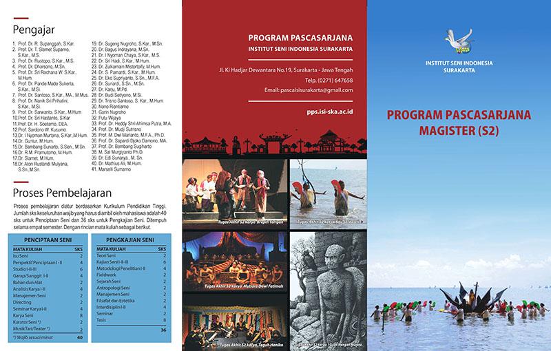 Leaflet Pendaftaran Mahasiswa Baru  Tahun Akademik 2017/2018 S-2