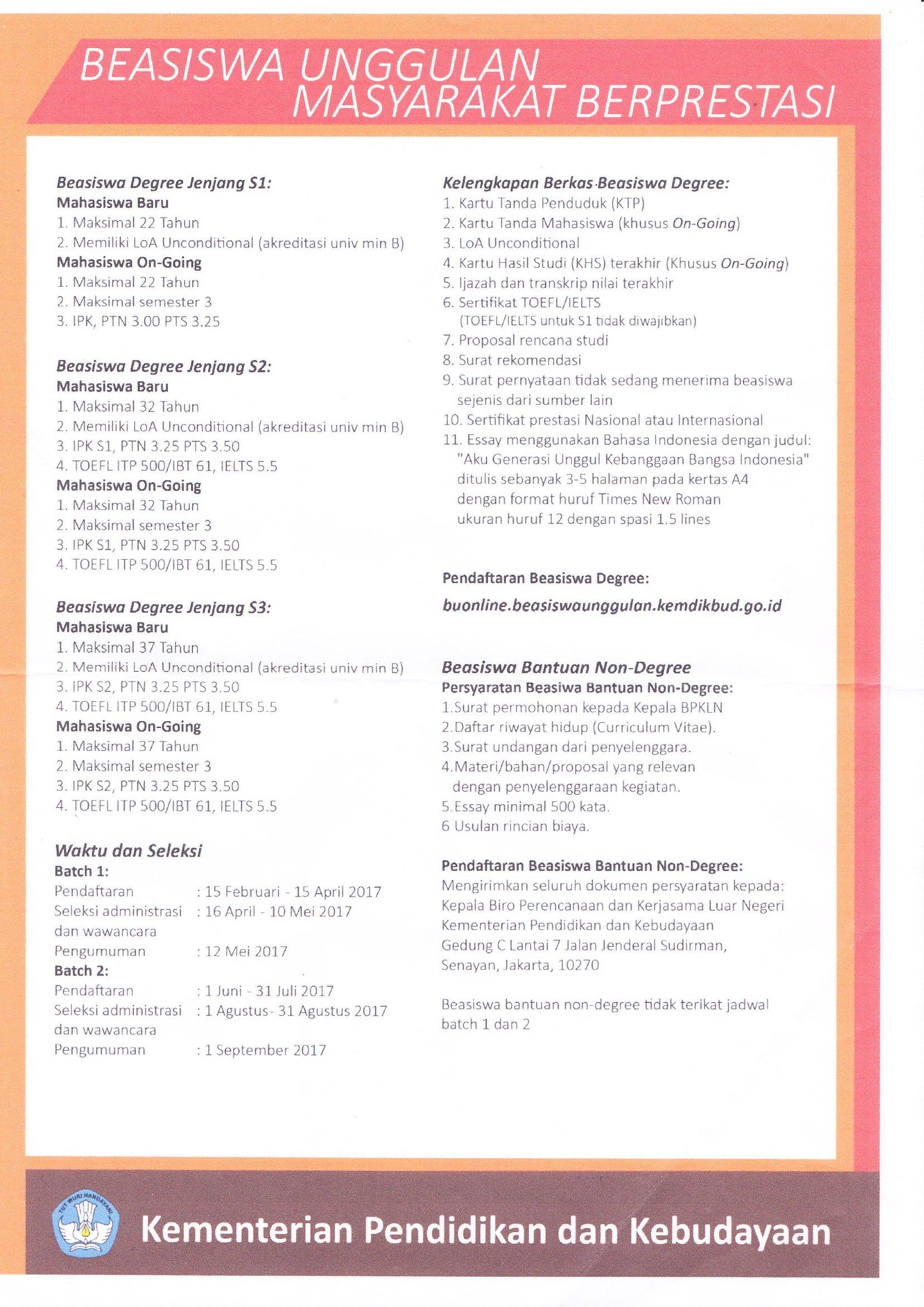 self introduction essay untuk beasiswa Ka makasih banyak atas ilmu yg dibagi, dan maaf saya mohon izin mempelajari essay untuk mengajukan beasiswa juga semoga saya bisa seperti kakak ya reply.